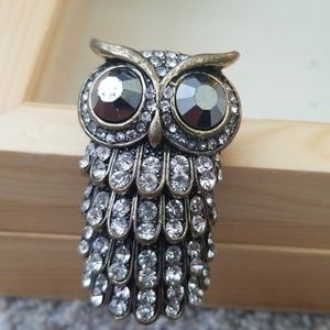 Bendable Owl Ring